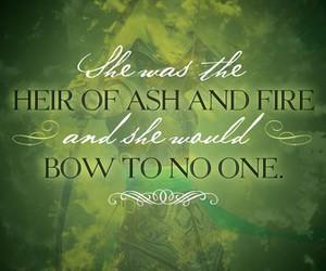 heir of fire, book, and celaena sardothien image