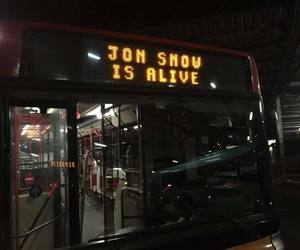 game of thrones, jon snow, and alive image
