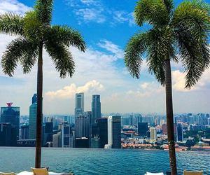 city, sea, and summer image