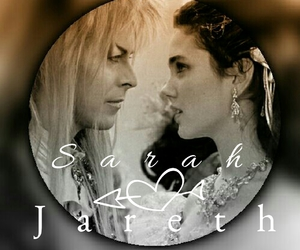 david bowie, jareth, and jennifer connelly image