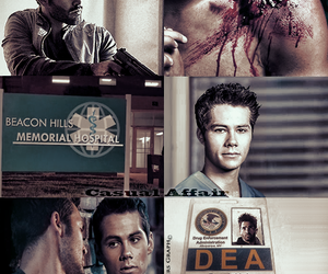 fanfiction, teen wolf, and crackship image