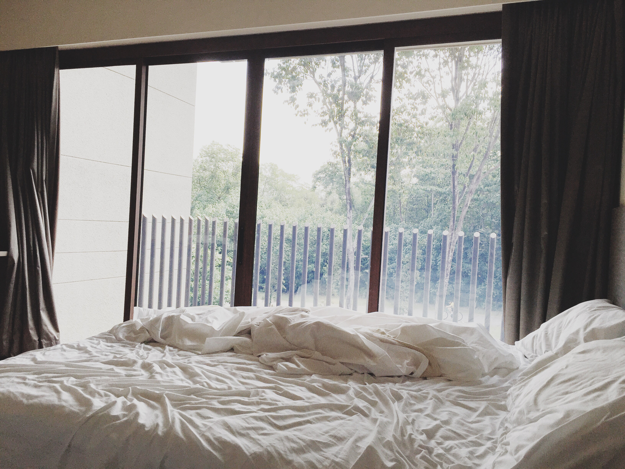 bedroom, holiday, and interior image