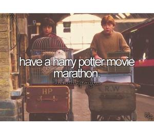 fandom, harry potter, and Marathon image