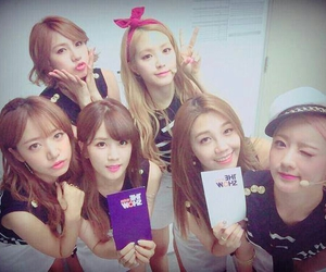 kpop, a pink, and apink image