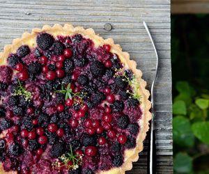 pie, berries, and food image