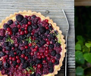 pie, berries, and food image