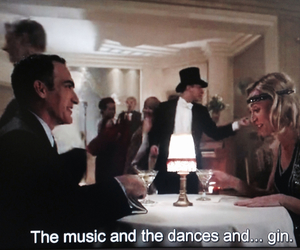 dance, music, and gin image