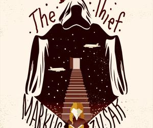 the book thief, markus zusak, and books image