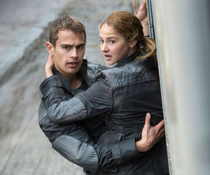 divergent, theo james, and tobias eaton image