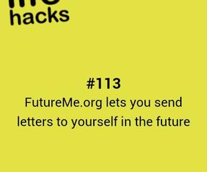future, tips, and hacks image