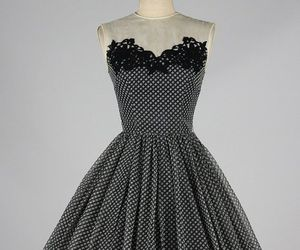 clothes, vintage, and 1950s dress image