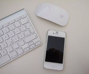 apple, imac, and iphone image