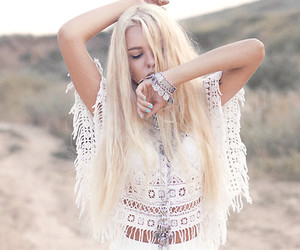 girl, fashion, and bohemian image