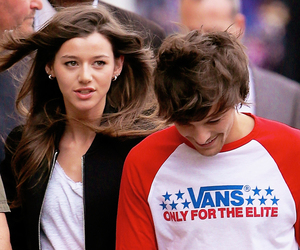 louis tomlinson, eleanor calder, and fashion image