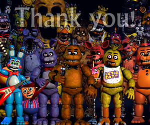 fnaf, five nights at freddy's, and Bonnie image