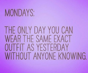 funny, lol, and mondays image