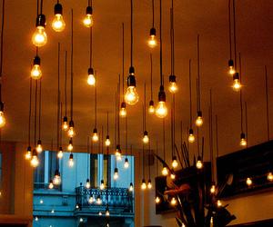 beautiful, lights, and room image
