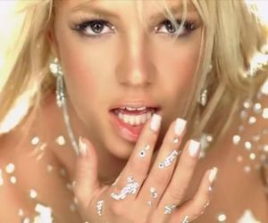 britney spears, toxic, and diamond image
