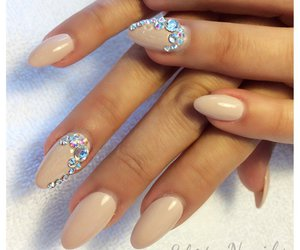 almond, nails, and shaped image