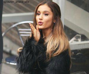 ariana grande, beauty, and kiss image
