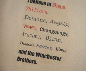supernatural, winchester, and demon image
