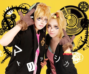 cosplay, len, and rin image