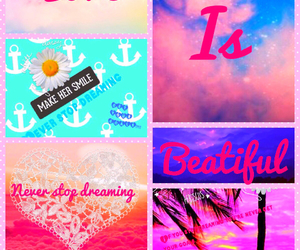 beautiful, pink, and never stop dreaming image