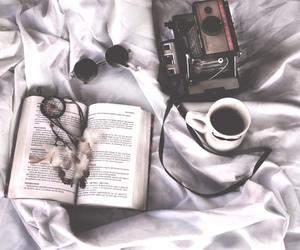book, camera, and dreamcatcher image