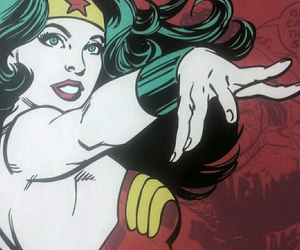 color, comic, and girl power image