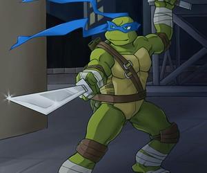 Leonardo and tmnt image