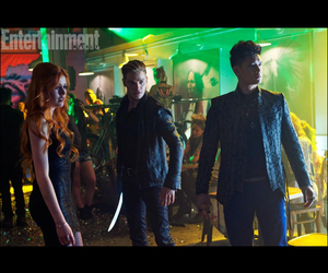 clary fray and magnus bane image