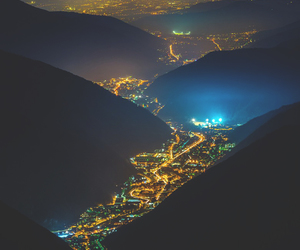 light, italy, and night image