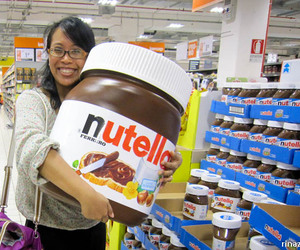 food, love, and nutella image