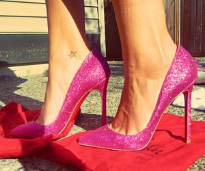 brand, christian louboutin, and color image