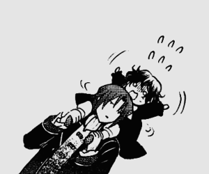 pandora hearts, gilbert nightray, and oswald baskerville image