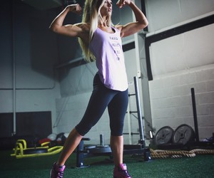 athlete, fit, and running image