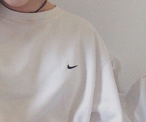 nike, aesthetic, and white image