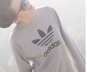 adidas, girl, and sunglasses image