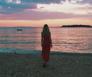 beach, Croatia, and hair image