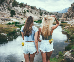 friends, best friends, and summer image