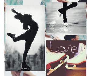figure skating, ice, and inspo image