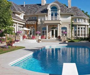 amazing, beautiful, and mansion image