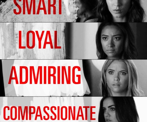 pll, pretty little liars, and compassionate image