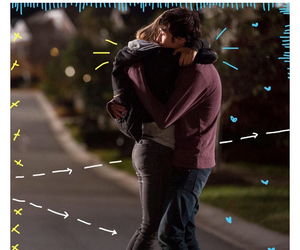 paper towns, cara delevingne, and nat wolff image