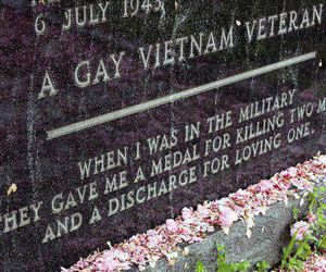 gay and soldier image