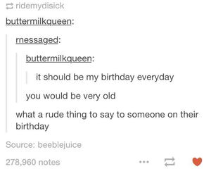 birthday, funny, and heart image