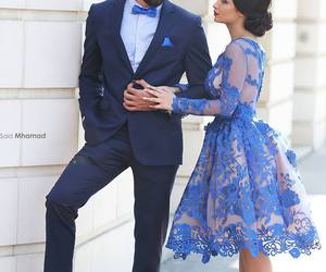 dress, love, and blue image