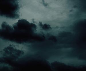 clouds, dark, and indie image