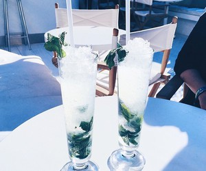drink, summer, and ice image