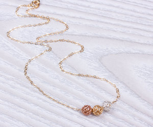 lupa, layered necklace, and bridesmaid necklace image